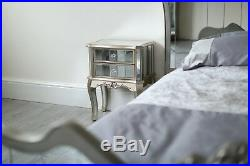 Mirrored Chest of Drawers Chest Cabinet Bedside Tables Mirror Bedroom Dresser