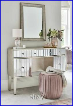 Mirrored Panel Dressing Table Mirror Shabby Chic Bedroom Dressing Room Furniture