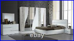 Modern Full Italian Bedroom Set With Free Delivery