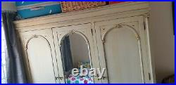 Shabby Chic 5 Piece Solid Wood Bedroom Furniture